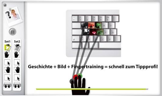 In Kassel 10-Fingerschreiben lernen - nach der Methode Emo2Type