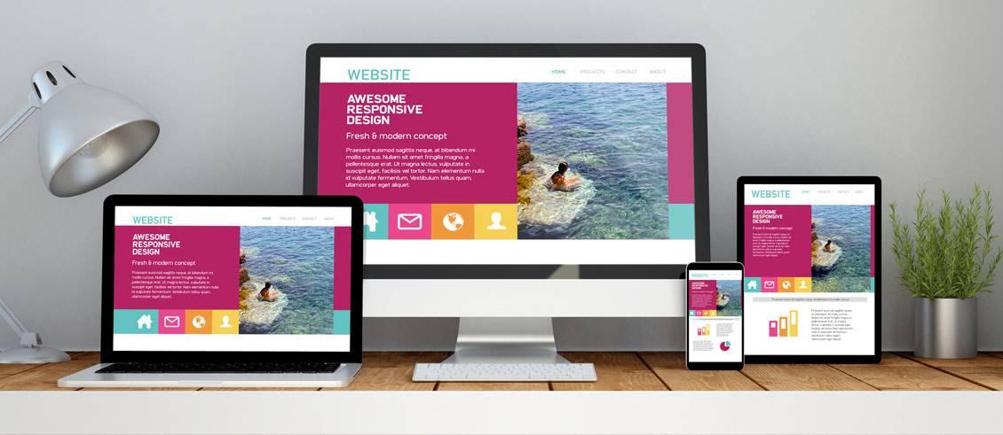 Wordpress in Kassel: responsives Webdesign von Schira-Design lässt Ihre Homepage auf Laptop, Smartphone und Tablet gut aussehen.