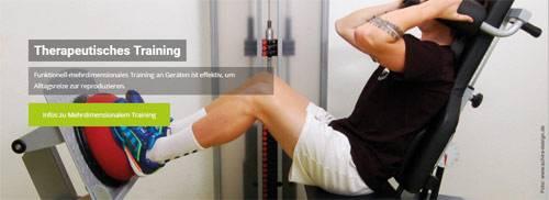 Fotos für die Webseite der Praxis für Physiotherapie Fuldabrück, erstellt von Schira-Design (Kassel).