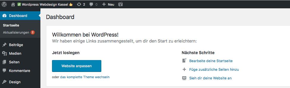 Wordpress Seminare in Kassel und Nordhessen - auch als Einzel- oder Firmenschulung